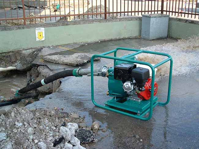 Caffini Trash Pump Application